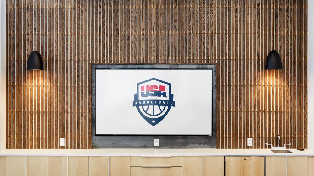 olympic basketball headquarters environment