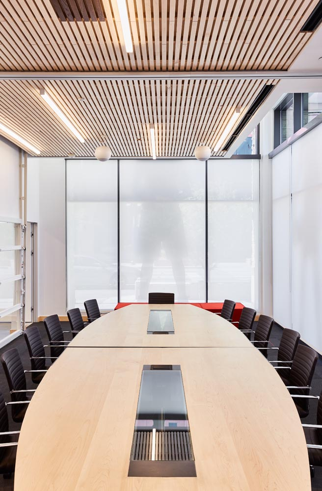 conference table by twenty1five colorado furniture fabricator