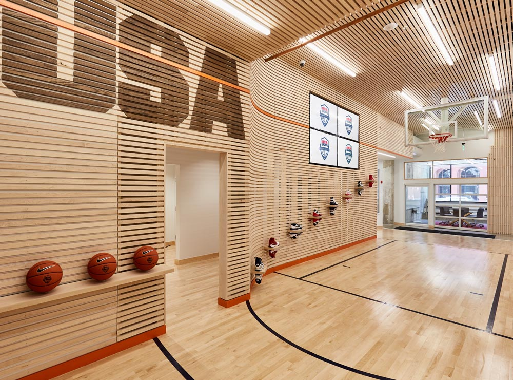 basketball headquarters custom environment by twenty1five colorado