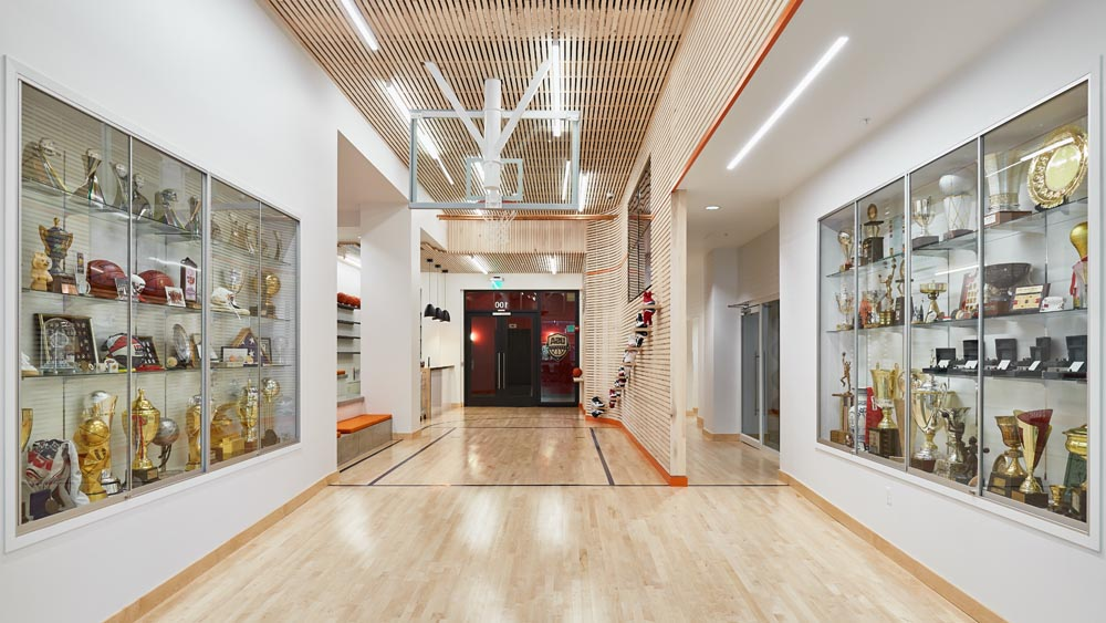 basketball headquarters custom environment by twenty1five colorado