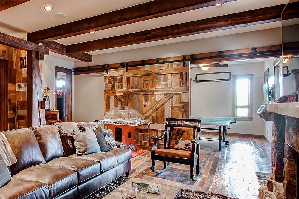 luxury custom sliding wood doors