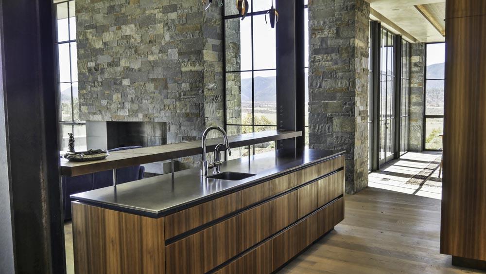luxury custom counter