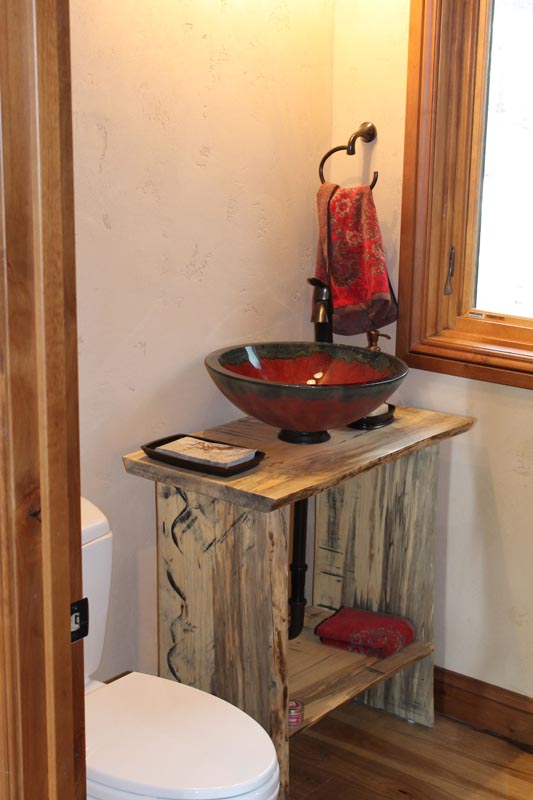 custom sink base