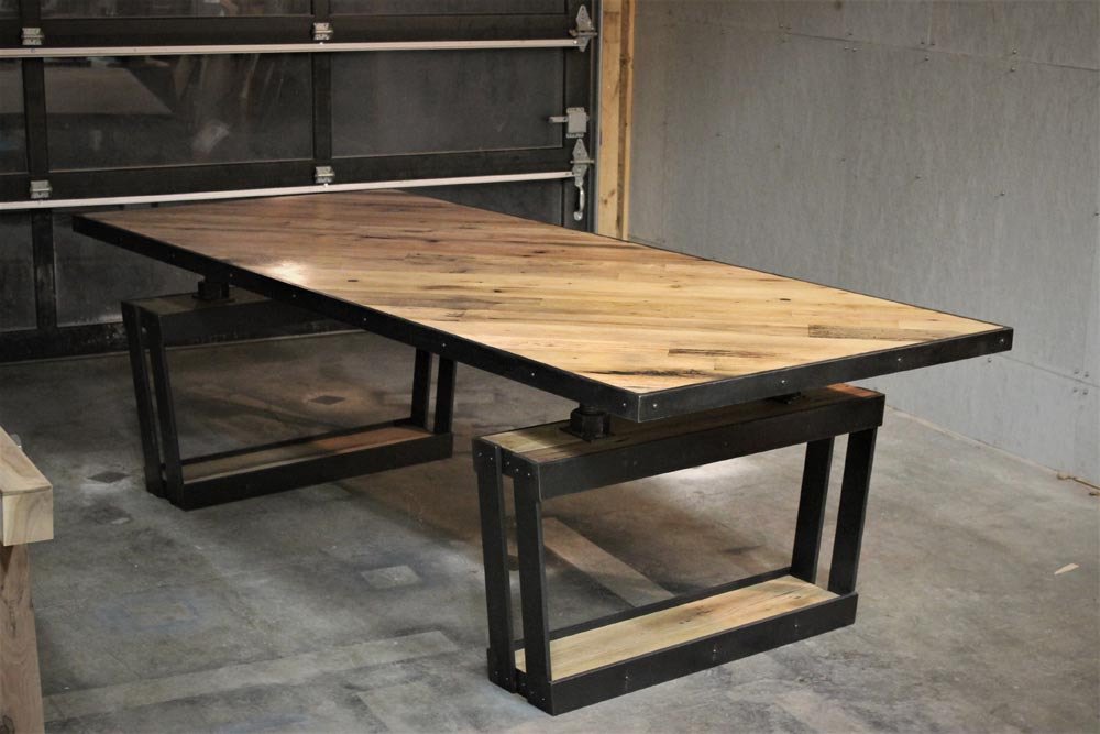 custom twenty1five fabricated table