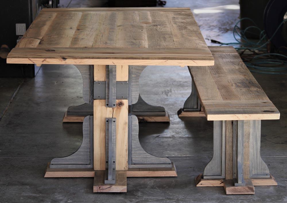 luxury custom wood tables by twenty1five colorado
