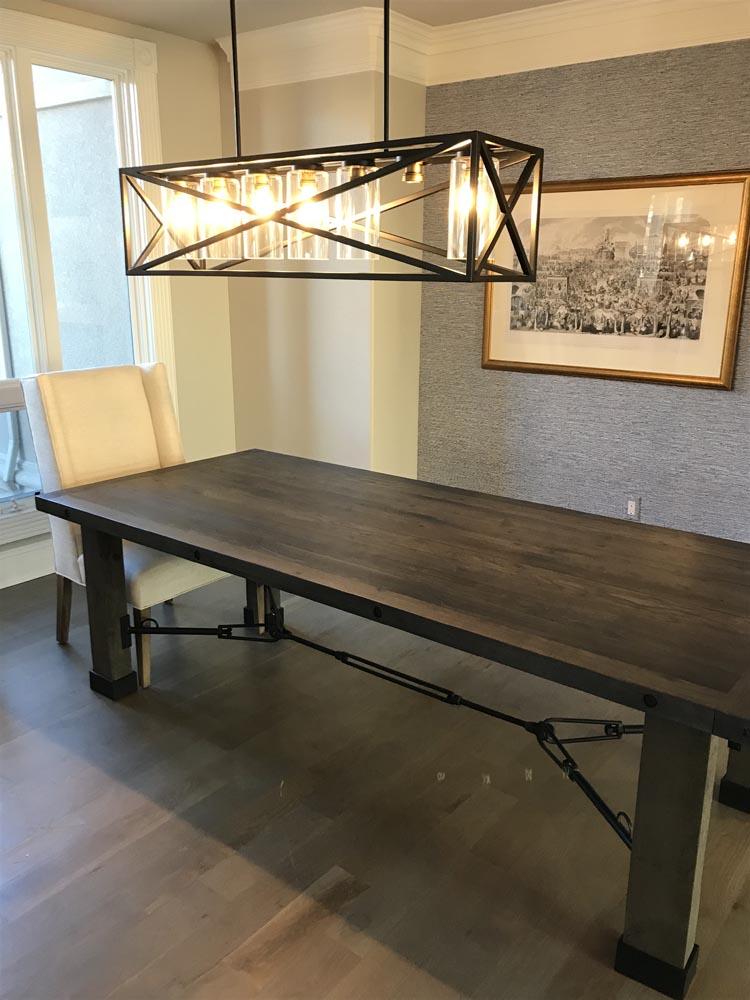 colorado custom fabricated dining tables by twenty1five