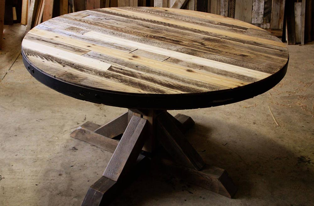 table round wood by twenty1five