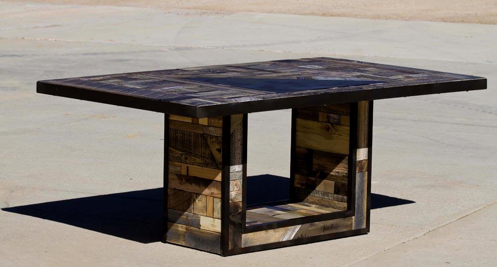 custom fabricated table
