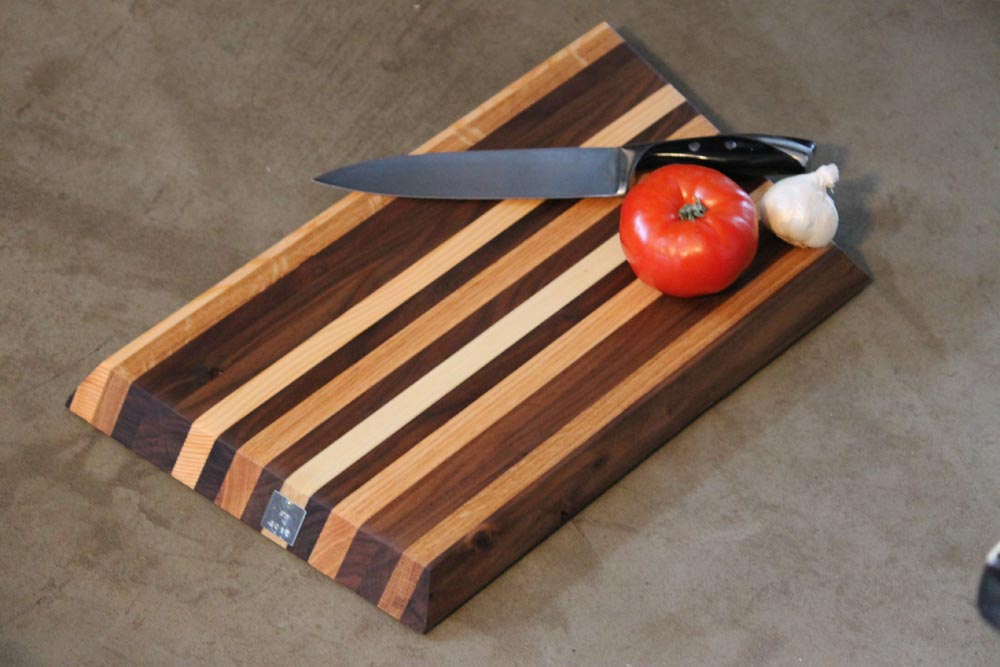 wood cutting board custom by twenty1five