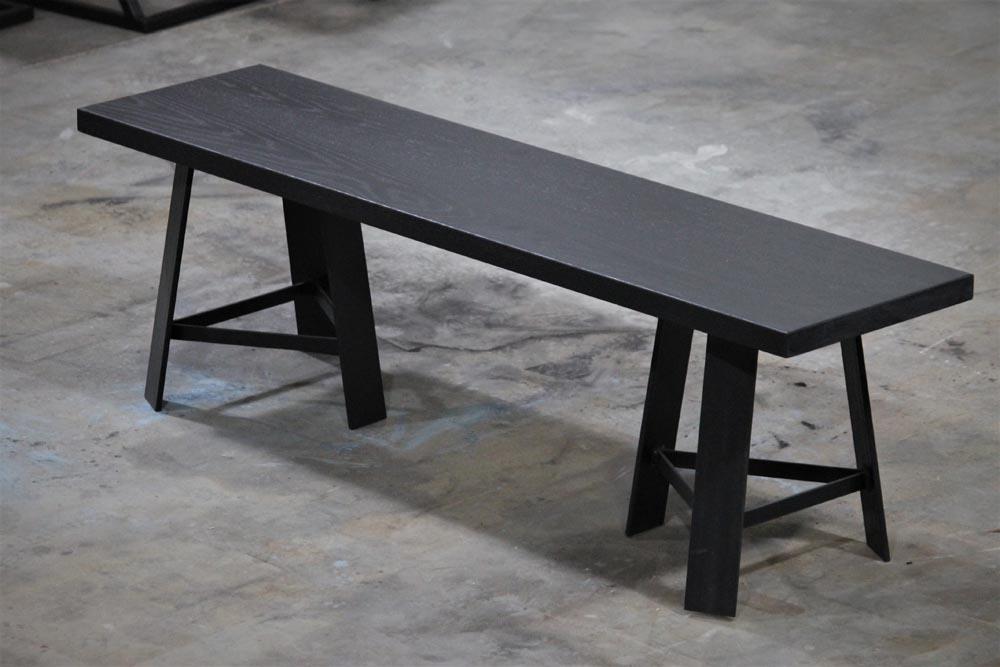 custom modern bench