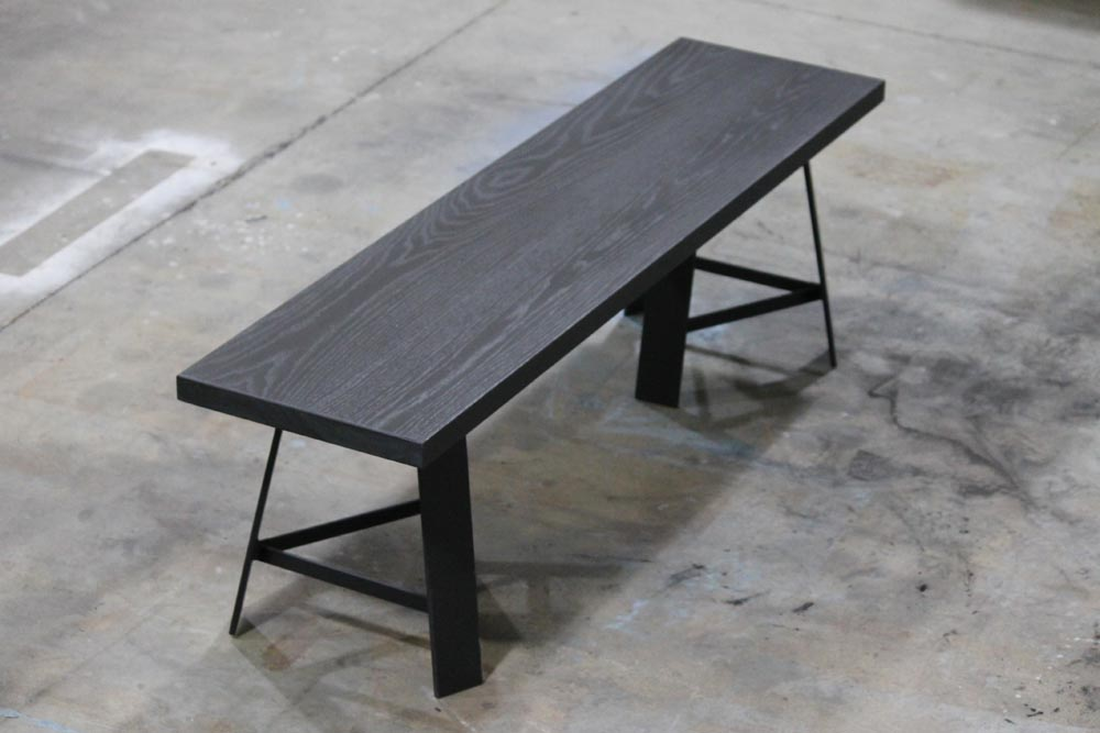 modern bench by twenty1five