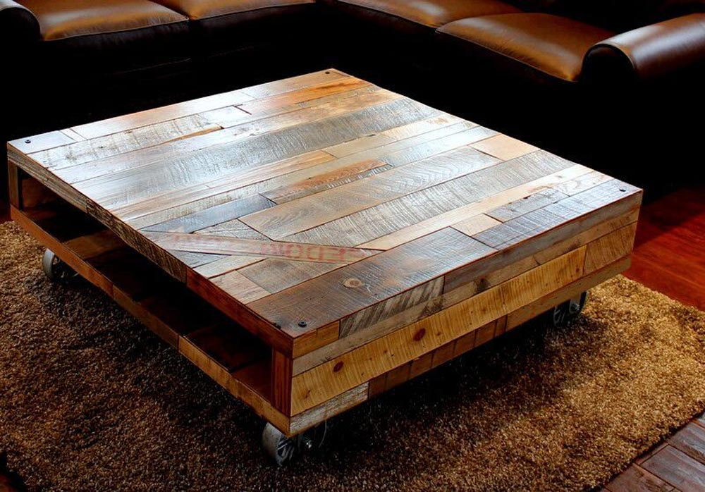 custom fabricated coffee table by twenty1five