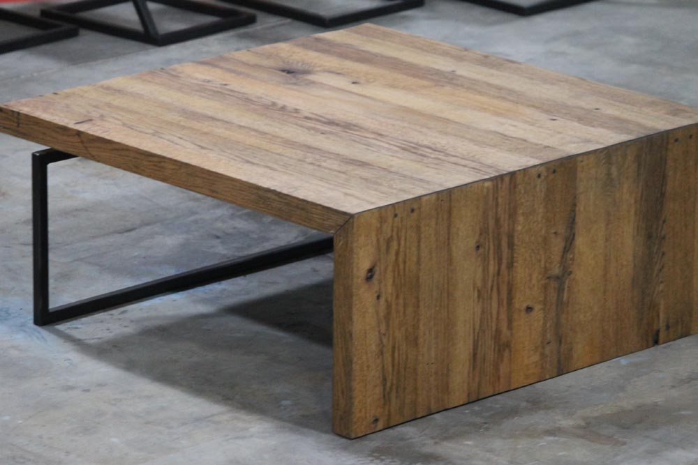 custom designed and fabricated coffee table