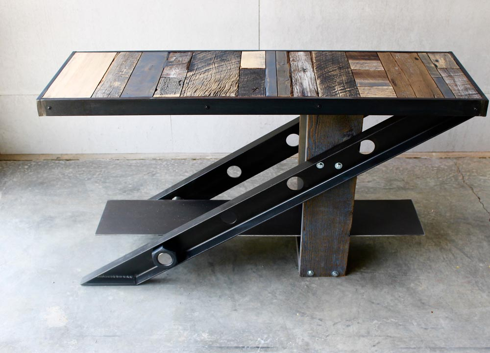custom table designed by twenty1five