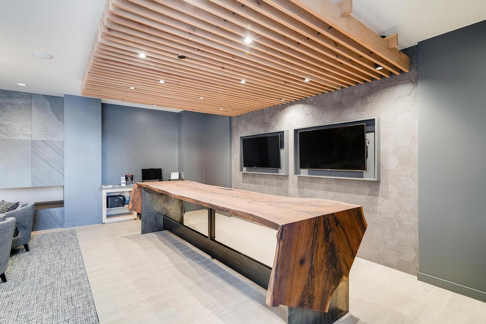 conference table hotel lobby