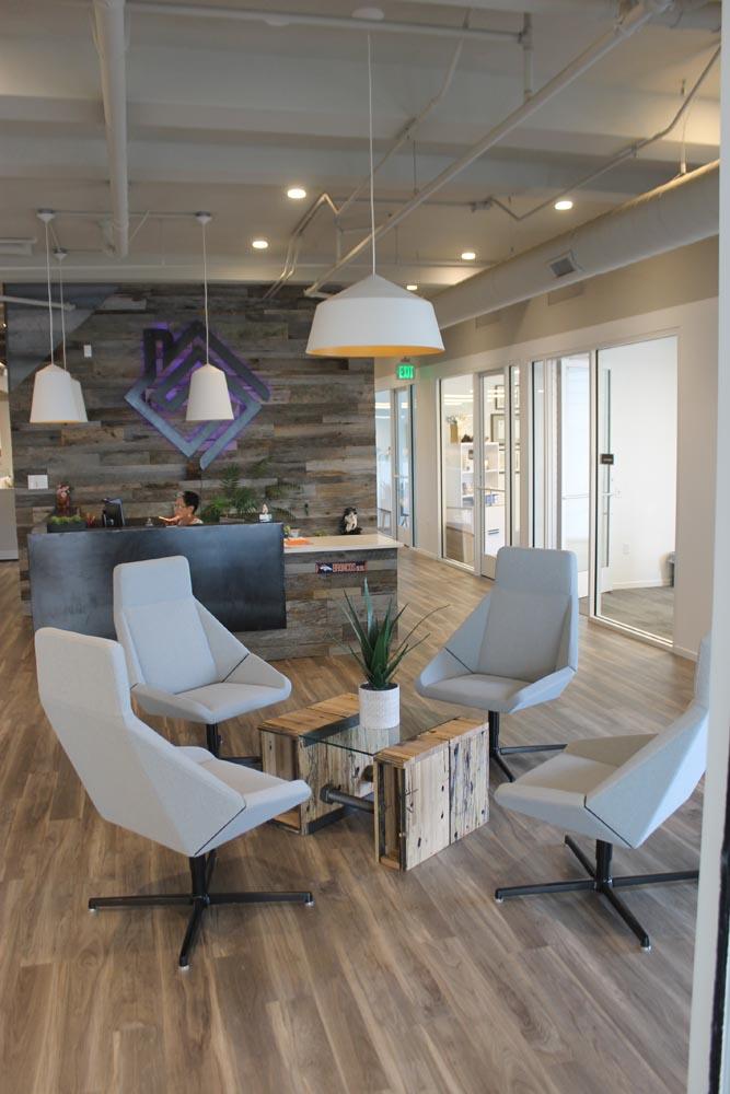 lobby furnishings table fabricated by twenty1five