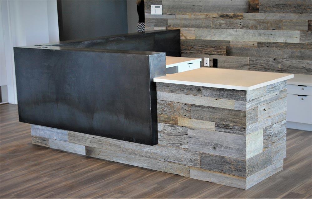 reception desk by twenty1five