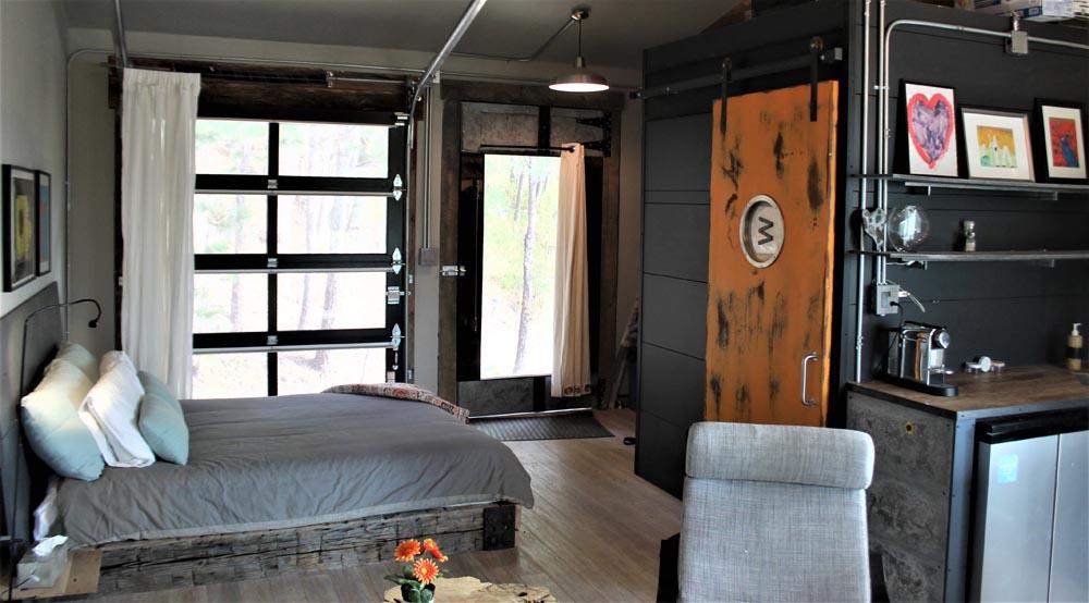 custom doors in residence