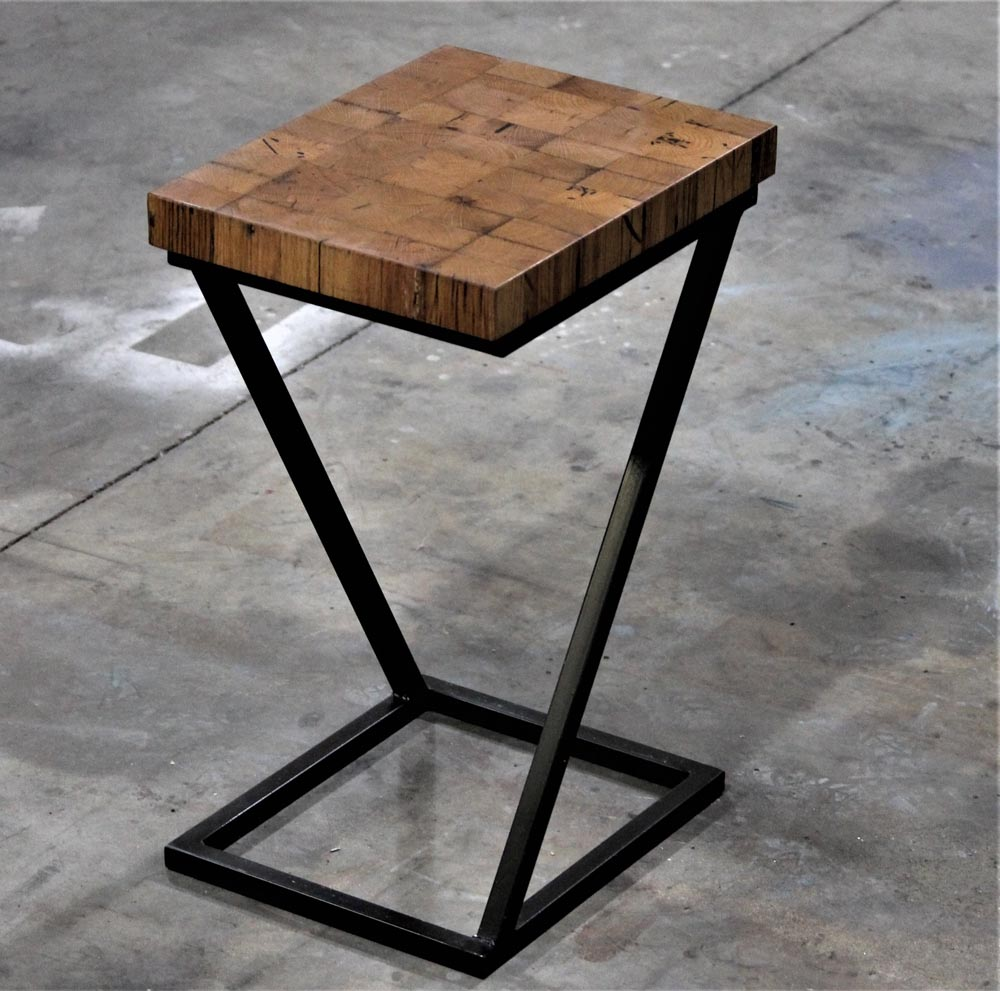 custom furniture end table